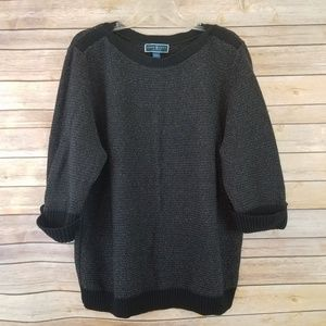 Karen Scott Sparkly Pullover Sweater